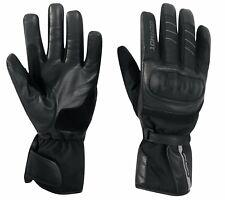 GERMOT Handschuhe JACKSONVILLE Motorradhanschuh Leder Textil wasserdicht 8 / M