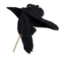 Crow Hypa-Flap Decoy by Sillosocks Suitable for Rotary Machine or Bouncer Poles