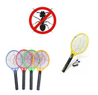 Electric Racket Fly Insect Zapper Killer Swatter Bug Mosquito Wasp Electronic UK