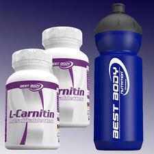 (72,72€/kg) Best Body Nutrition L-Carnitin 2 x 60 Tabletten + Sportbottle 500ml