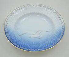 Bing & Grondahl B & g-gaviota con marco dorado plenamente punta-platos de 21,5cm -