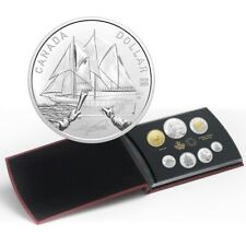 100th Anniversary of the Bluenose - 2021 Canada Silver Dollar Proof Set