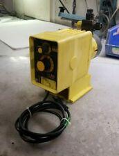 LMI MILTON ROY A751-91S CHEMICAL METERING PUMP 120 VAC 24 GPD 110 PSI 1 AMP