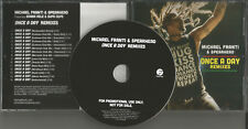 MICHAEL FRANTI SPEARHEAD Once a Day REMIXES 15TRX & INSTRUMENTAL PROMO CD single