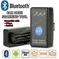 OBD2 Car Bluetooth Scanner Code Reader OBDII ELM 327 Diagnostic Tool for iPhone