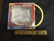 SDCC 2017 EE Invisible Jet Wonder Woman Evolution Pin Mate Wooden Figure