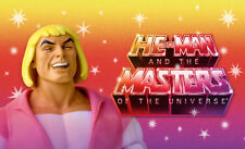super 7 - Masters Of The Universe Laughing Prince Adam SDCC