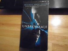 Sealed Rare Oop Unbreakable Vhs film M. Night Shyamalan Glass Split Bruce Willis