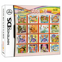 486 in 1 Video Games Cartridge Girl Game for Nintendo NDS NDSL NDSi 3DS 2DS