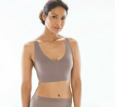 dbb247016c9 SOMA ENBLISS RACERBACK WIRELESS BRALETTE BRA IN MOCHACCINO SIZE MEDIUM NEW