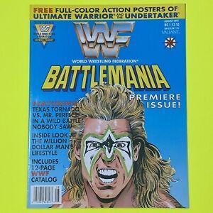 WWF Battlemania #1 Valiant Comics, 1991 Ultimate Warrior & Undertaker CGC READY