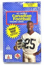 1991 Premier Ed 36-ct (9 Packs) All World Canadian Football Trading Cards CFL