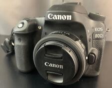 🔥Canon EOS 80D 24.2MP Digital SLR Kit w/ EF-S 24mm Lens. Slightly Used