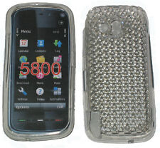For Nokia 5800 XpressMusic Pattern Gel Case Protector Cover Clear New UK