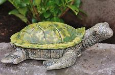 Figura animal tortuga grande de Cerámica decoración salón NUEVO ta-52191