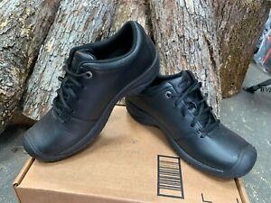 KEEN Utility Women's PTC Oxford Work Shoe Black Size: US 9