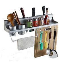 New Multifunction Kitchen Pantry Storage Rack Organizer Knife Spice Shelf Holder