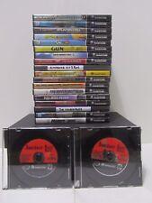 Nintendo Gamecube Lot of 19 Games Resident Evil Metroid Simpsons Crash & OTHERS
