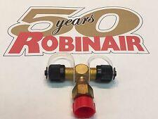 ROBINAIR, Vacuum Pump, Universal Inlet Tee Kit, 1/4 FMF x 1/4MF x 1/4MF