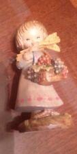 """Anri Ferrandiz """"Harvest Girl"""" 3"""" Italian wood carving"""