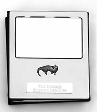 More details for otter design silver personalised photo album free engraving 100 photos 252