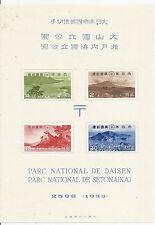 1939 Japan Scott 288a with Folder, National Parks, 2599 MNH