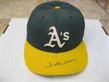 Johnny Damon 2001 Fleer Legacy MLB Autograph Cap with Fleer COA