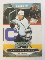 UPPER DECK 2019 - 2020 MVP CARL GRUNDSTROM ROOKIE # 221 | 1 CARD