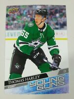 2020-21 Upper Deck Series 1 Thomas Harley Oversized Young Guns Jumbo RC #227