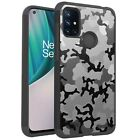 MetKase Hybrid Slim Phone Case Cover For OnePlus Nord N10 5G - GRAY STYLISH CAMO