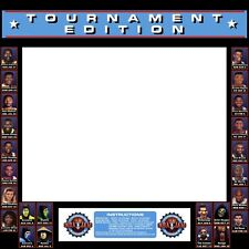 NBA Jam Arcade Secret Character Bezel Control Panel Artwork CPO Midway TE Midway