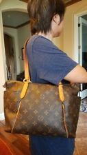Authentic Louis Vuitton Totally Monogram Tote Shoulder Handbag PM