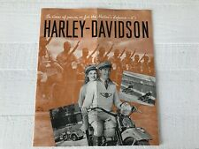 Original Vintage Print Harley Davidson War Time Advertisement Knucklehead WLA