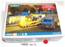 kibri 14000 Spur H0 Set Straßenbau Funktionsbausatz mit LED-Beleuchtung #NEU OVP