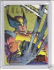 95 Fleer X-Men #7 of 9 Hunters & Stalkers gold card