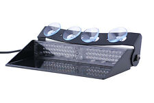 Police Lightz - 2nd Generation PD72 Deck/Dash Tow/Security LED Light - Amber