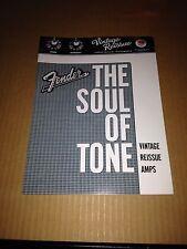 Fender Amp Catalog 2008