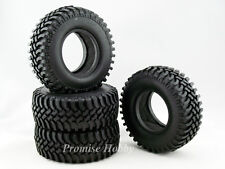 100mm diameter rubber crawler tire set for 1.9 wheels 1/10 rc crawlers -4 pcs