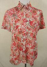 Süße GERRY WEBER Millefleur Chiffon Print Bluse, Hemd multicolor Gr. 40