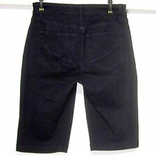 NYDJ-NOT YOUR DAUGHTER'S JEANS NWOT (4) LIFT TUCK TECHNOLOGY BLACK SHORTS WOMENS