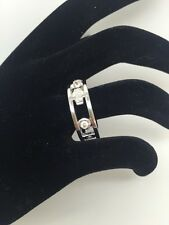 Tiffany & Co 18ct white gold and diamond 1837 ring