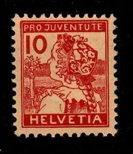 Switzerland - Scott #B3 Mint Semi-Postal (Folk Costume)