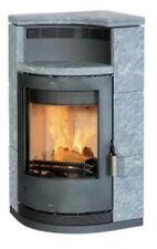 EEK A - Eck-Kaminofen Fireplace Lyon Speckstein 8 kW