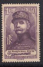 FRANCE TIMBRE NEUF  N° 455 **  FERDINAND FOCH MARECHAL DE FRANCE