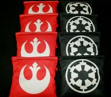 CUSTOM Star Wars fabric 8 cornhole ACA reg cornhole bags Darth Vader Party Bag