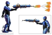 """ROBOCOP WITH FLAMETHROWER 7"""" FIGURE ROBOCOP VS TERMINATOR SERIES 2 BY NECA"""