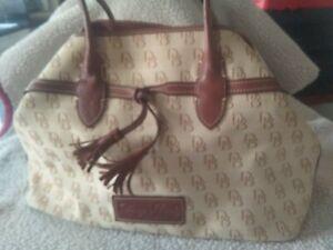 Dooney & Bourke Canvas Handbag
