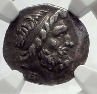 GORTYNA in CRETE Island 98BC RARE Authentic Ancient Silver Greek Coin NGC i64776