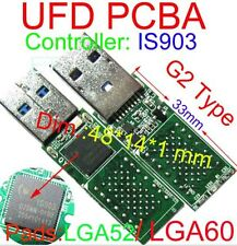 USB 3.0 IS903 Controller USB FLASH DRIVE PCBA DIY LGA60 LGA52 Flash lettura nand