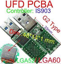 USB 3.0 IS903 Controller USB FLASH DRIVE PCBA DIY LGA60 LGA52 Flash lettura nand